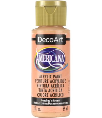 Americana Acrylic Paint Peaches 'n Cream