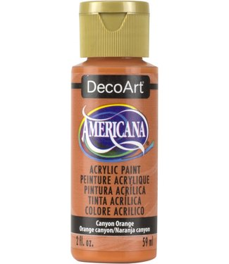 Americana Acrylic Paint Canyon Orange