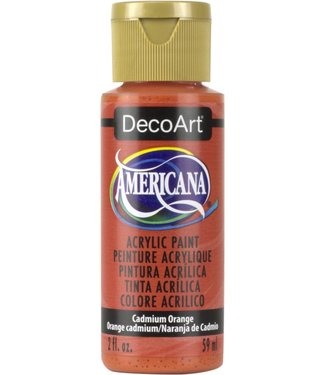 Americana Acrylic Paint Cadmium Orange