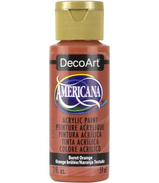 Americana Acrylic Paint Burnt Orange