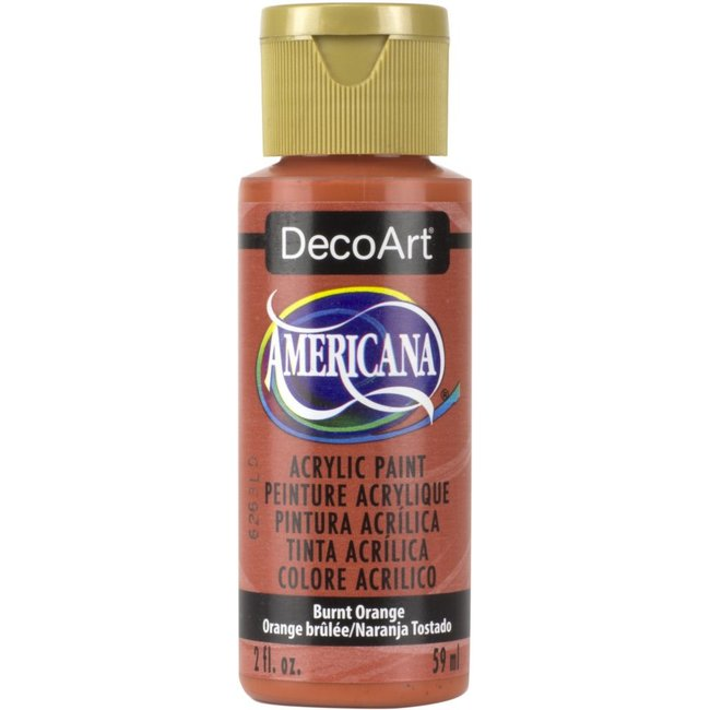 DecoArt Americana Acryl Verf Burnt Orange