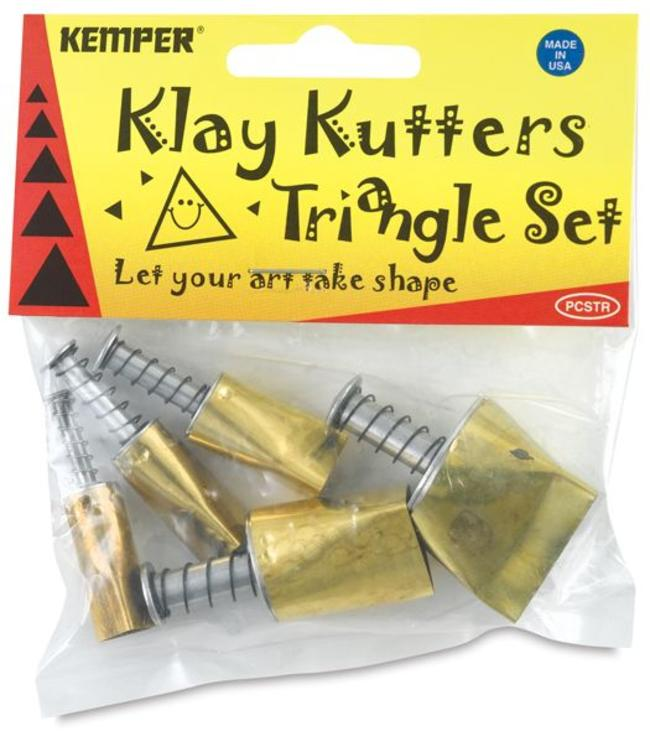 Kemper Tools - Klay Cutters Triangle Set
