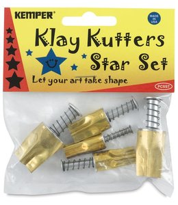 Kemper Tools - Klay Cutters Star Set