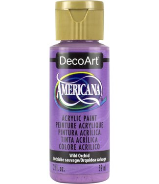 Americana Acrylic Paint Wild Orchid