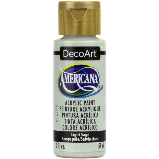 DecoArt Americana Acrylic Paint Light Sage