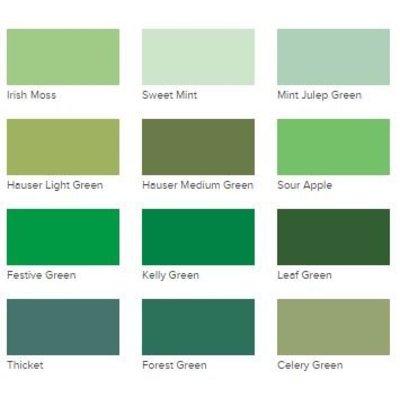 Acrylic Paint DecoArt Americana Greens