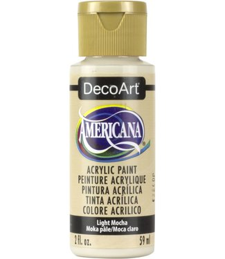 Americana Acrylic Paint Light Mocha