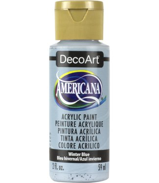 Americana Acrylic Paint Winter Blue