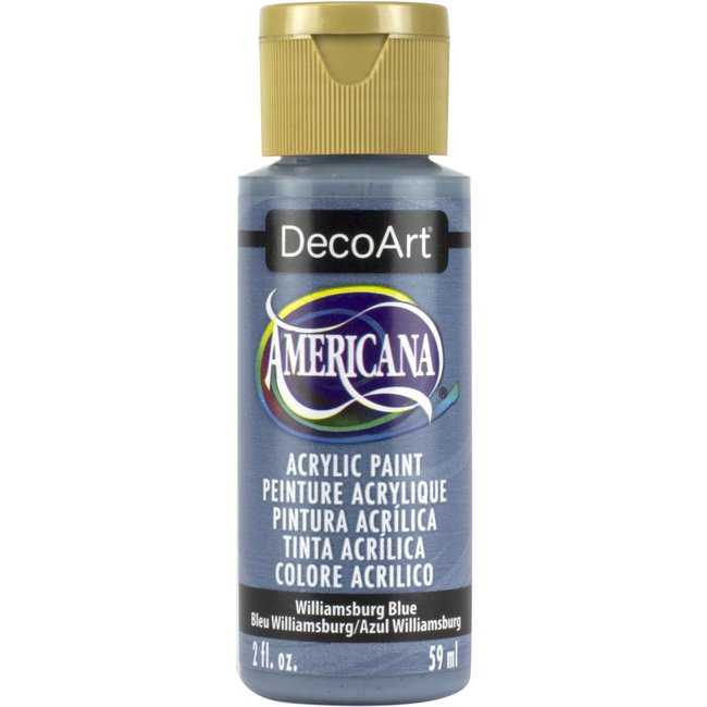 DecoArt Americana Acryl Verf Williamsburg Blue