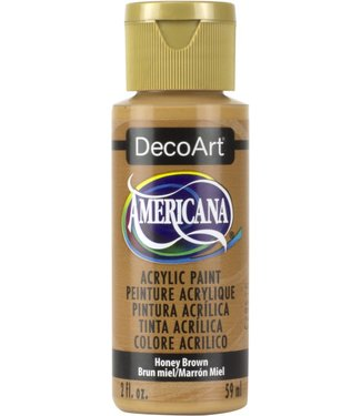 Americana Acrylic Paint Honey Brown