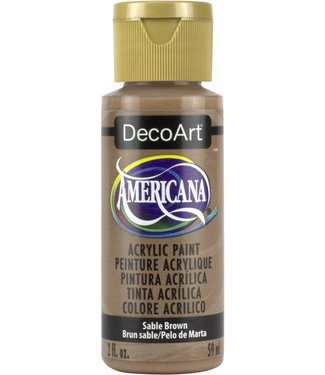 Americana Acrylic Paint Sable Brown