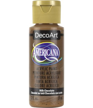 Americana Acrylic Paint Milk Chocolate