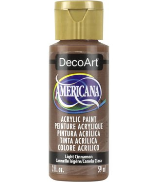 Americana Acrylic Paint Light Cinnamon