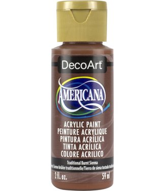 Americana Acrylic Paint Traditional Burnt Sienna