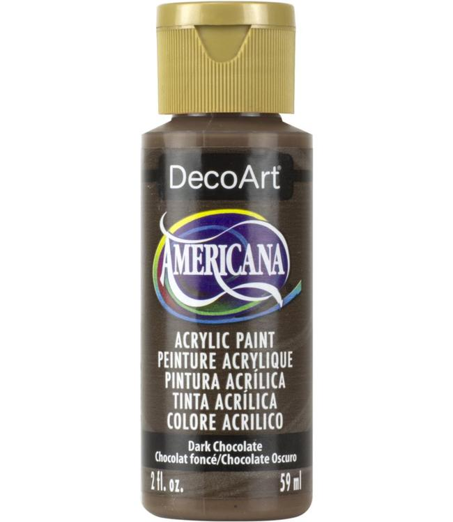 Americana Acryl Verf Dark Chocolate