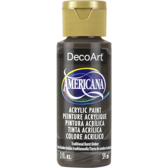 DecoArt Americana Acryl Verf Traditional Burnt Umber
