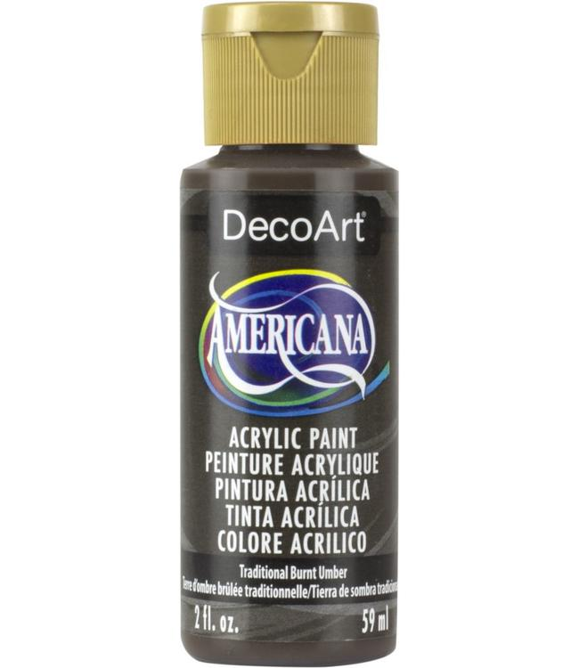 Americana Acryl Verf Traditional Burnt Umber