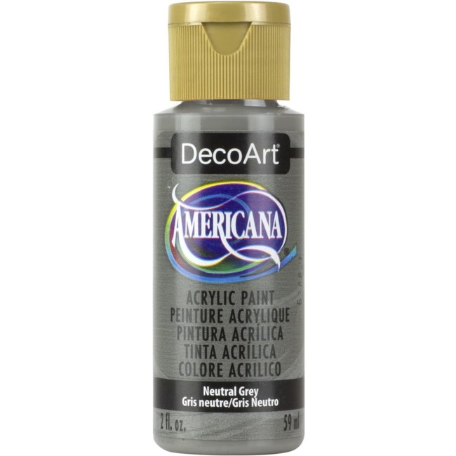 DecoArt Americana Acryl Verf Neutral Grey