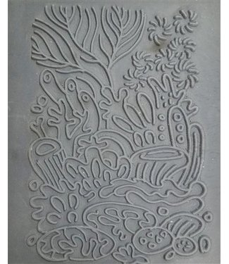 "Christi Friesen Texture Stamp ""Coral Reef"""