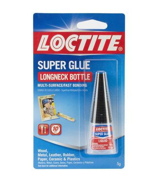 Loctite Super Glue Longneck Bottle 5 grams
