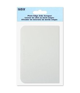 PME White Scraper/Squeegee for paint on silkscreens 9,2 x 13,2 cm.