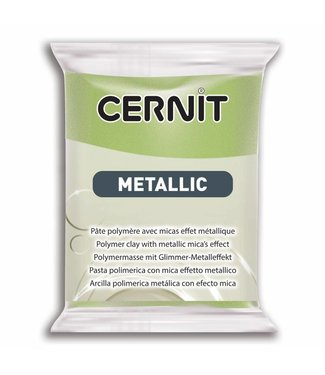 Cernit Metallic Green Gold (051) 56 gram