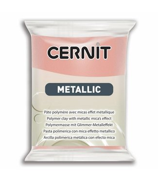 Cernit Metallic Rose Gold (052) 56 gram