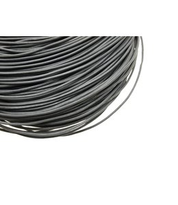Gray Leather thickness 2 mm. length 3 meters