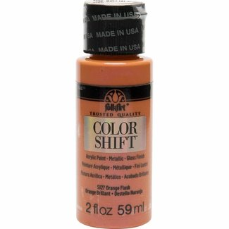 FolkArt Color Shift Metallic Verf Orange Flash