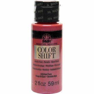 FolkArt Color Shift Metallic Verf Red Flash