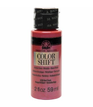 FolkArt Color Shift Metallic Paint Red Flash