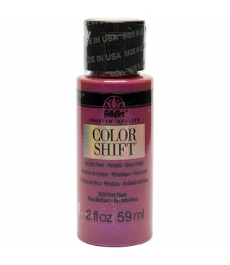 FolkArt Color Shift Metallic Paint Pink Flash