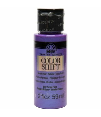 FolkArt Color Shift Metallic Paint Purple Flash