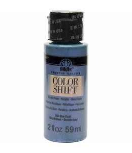 FolkArt Color Shift Metallic Paint Blue Flash