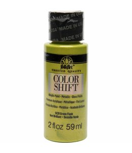 FolkArt Color Shift Metallic Paint Green Flash