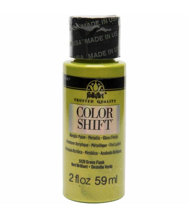 FolkArt Color Shift Metallic Verf Green Flash