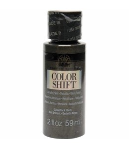 FolkArt Color Shift Metallic Paint Black Flash