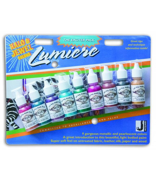 Lumiere verf Halo & Jewel Colors Exciter Pack