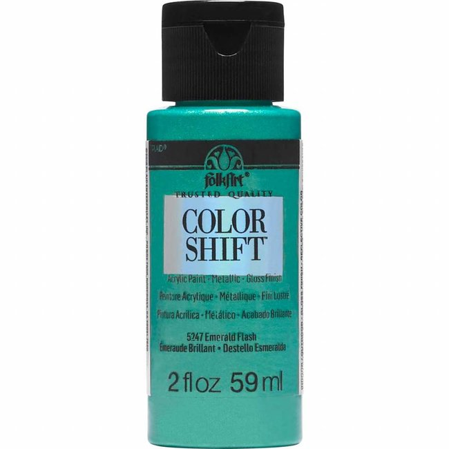FolkArt Color Shift Metallic Paint Emerald Flash