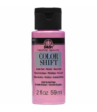 FolkArt Color Shift Metallic Paint Orchid Flash