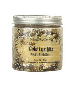 Gold Lux Mix Micas & Glitters 36 gram