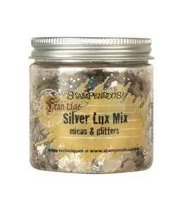 Silver Lux Mix Micas & Glitters 1.27 oz (36 g)