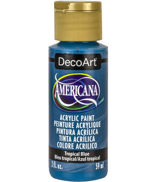 Americana Acryl Verf Tropical Blue