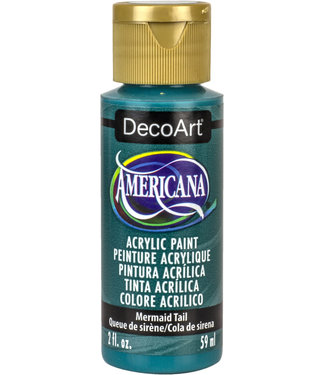 Americana Acrylic Paint Mermaid Tail