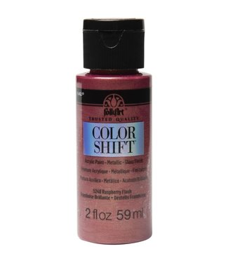 FolkArt Color Shift Metallic Paint Raspberry