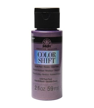 FolkArt Color Shift Metallic Paint Plum Flash