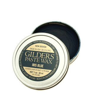 Gilders Paste Wax Iris Blue 30 ml.