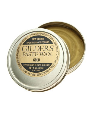 Gilders Paste Wax Gold 30 ml.