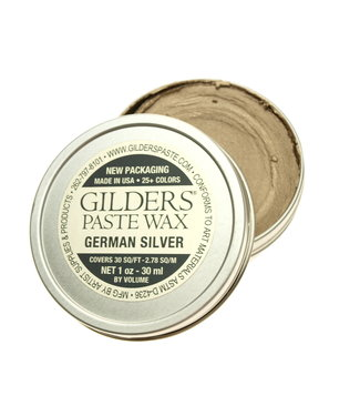 Gilders Paste Wax German Silver 30 ml.