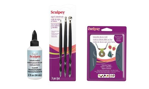 Sculpey Lak, Liquid & Tools